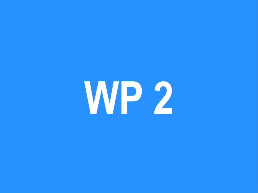 WP 2 – Suggestion of a coordination model for use of…